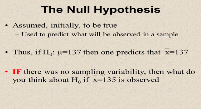 the NUll hypothesis in paired sample t-test