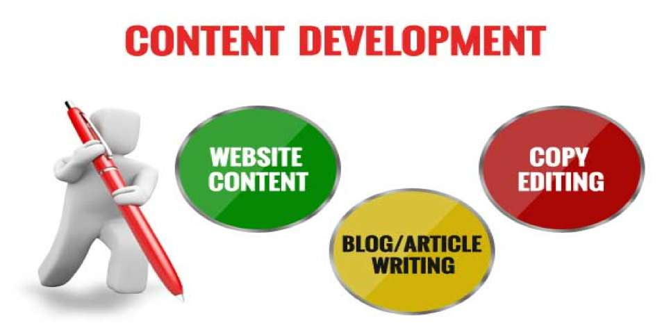 A content developer is proficient in a number of areas