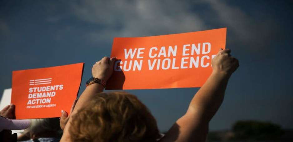 students demand action against gun related violence
